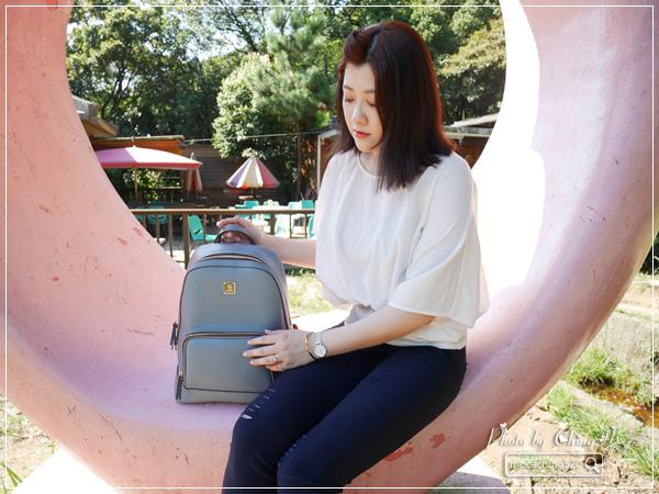 S AIME東京企劃 Gill吉兒系列 方塊中性多功能後背包 (16).jpg