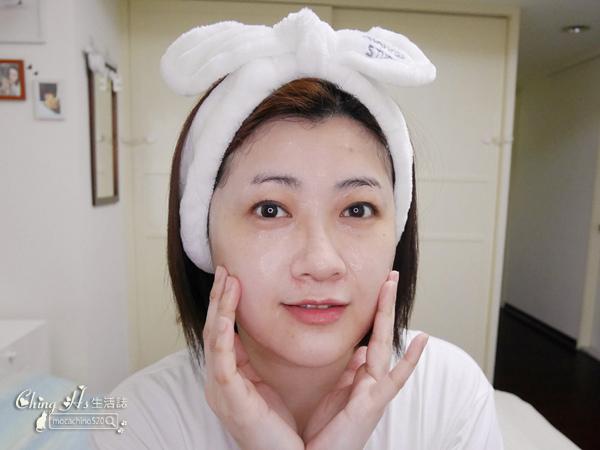 新品開箱。試色報告。innisfree 超貼膚精華面膜、雙步驟角質護理面膜、小V臉緊緻雙面膜、果漾精油唇萃 (8).jpg
