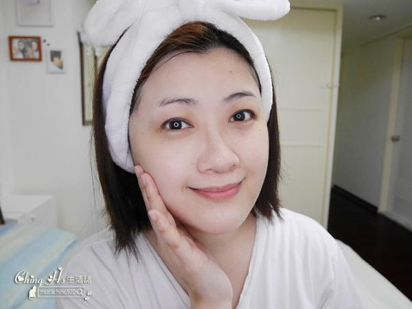 新品開箱。試色報告。innisfree 超貼膚精華面膜、雙步驟角質護理面膜、小V臉緊緻雙面膜、果漾精油唇萃 (9).jpg