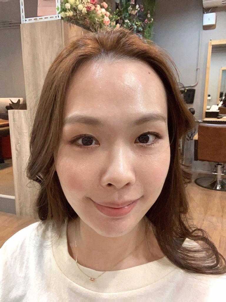 最新流行髮色|榛果奶油|不用漂髮02.JPG