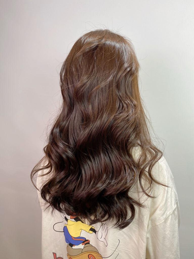 最新流行髮色|榛果奶油|不用漂髮23.JPG