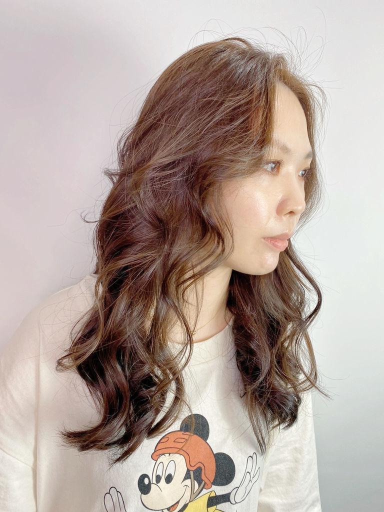 最新流行髮色|榛果奶油|不用漂髮19.JPG