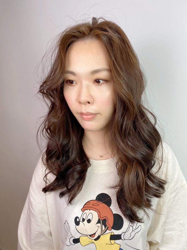 最新流行髮色|榛果奶油|不用漂髮22.JPG