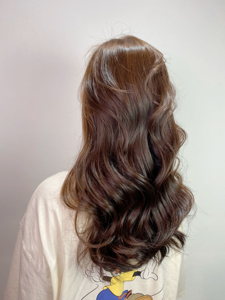 最新流行髮色|榛果奶油|不用漂髮24.JPG
