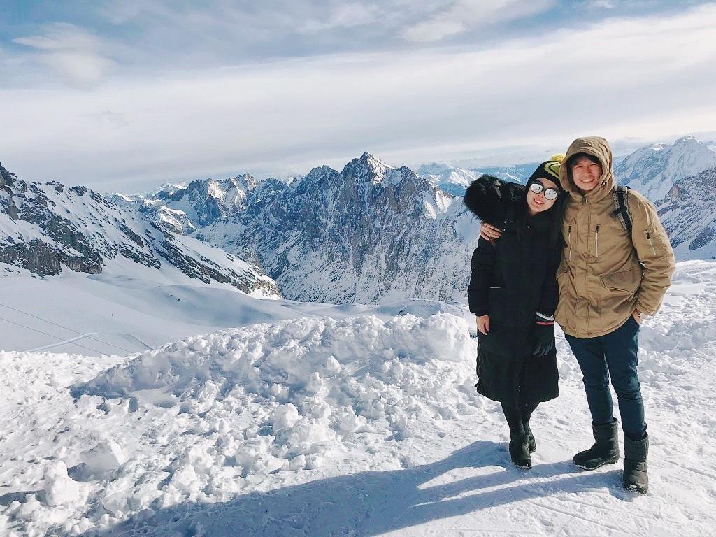 德國第一高峰|楚格峰Zugspitze合照.jpg