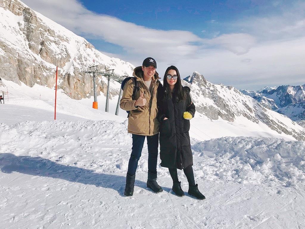 德國第一高峰|楚格峰Zugspitze情侶合照.jpg