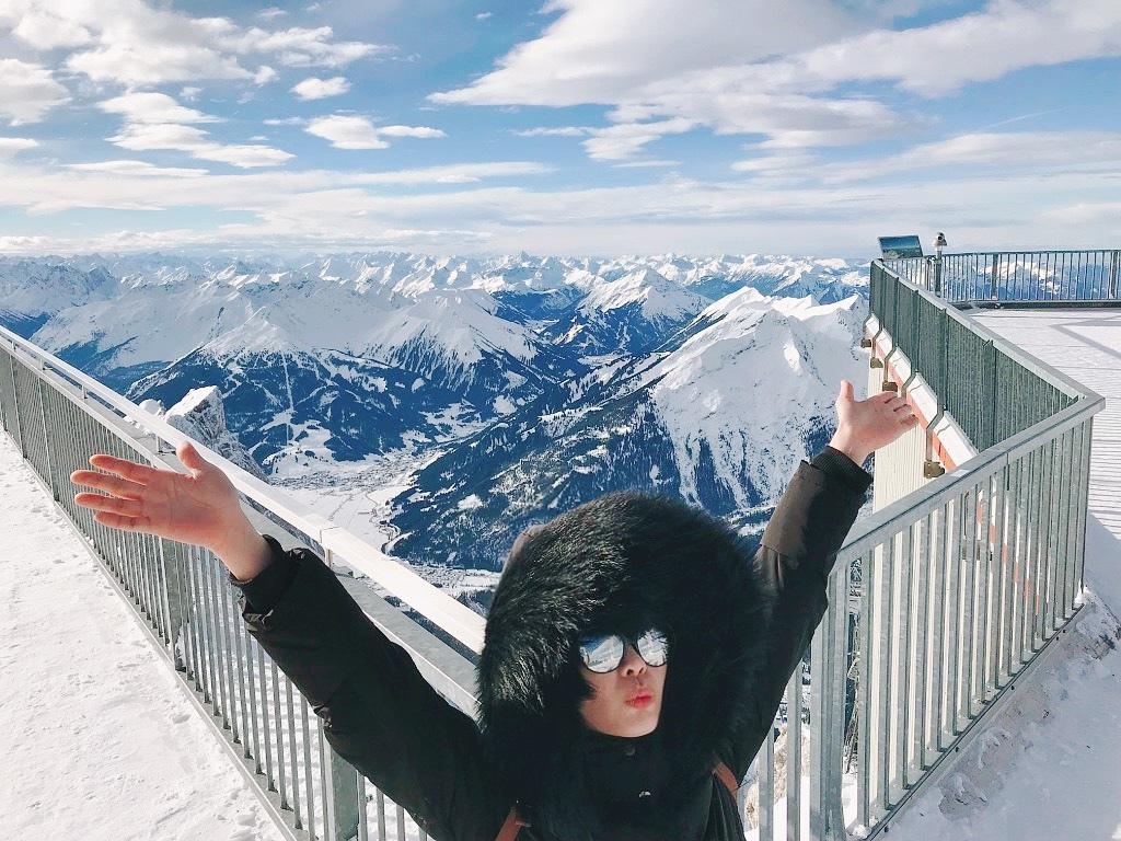 德國第一高峰|楚格峰Zugspitze女生個人照.jpg