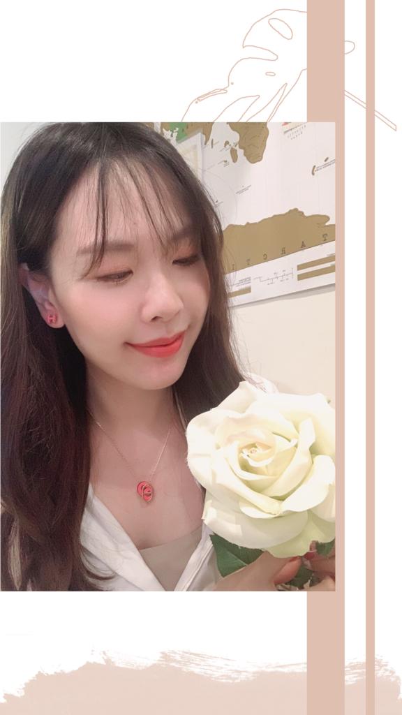 愛馬仕mini pop h 耳環粉色.PNG