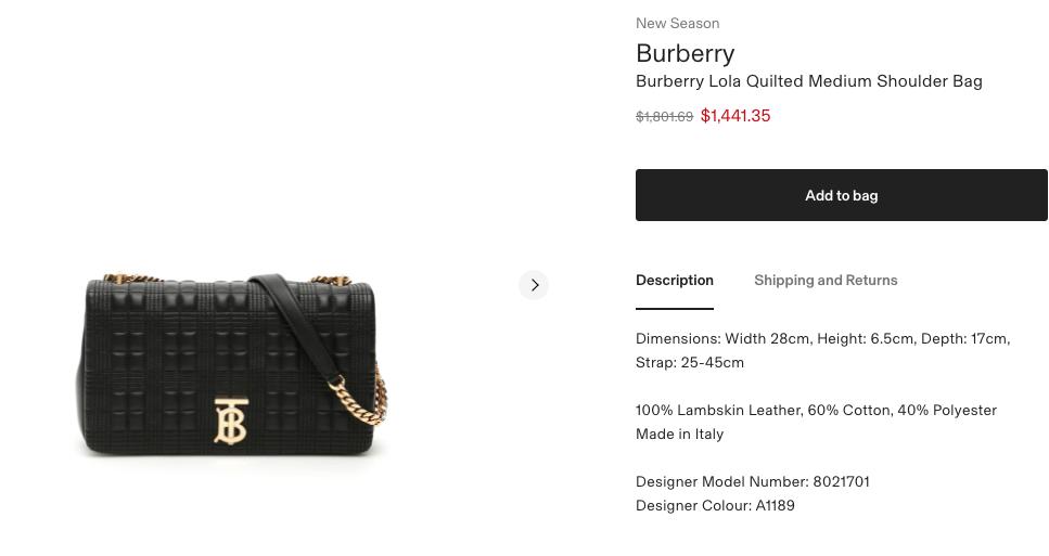 Blackpink Jisoo burberry lola bag.png