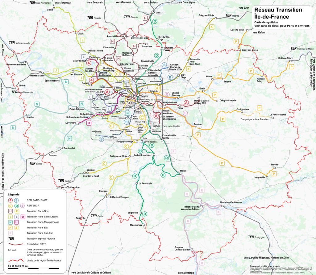 區域快鐵與郊區鐵路