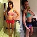 藍 蘋果型肥胖 主要 脂肪囤積于腹部