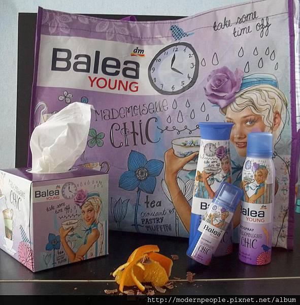 Balea芭蕾兒~~浪漫系列產品...