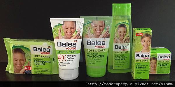 Balea臉部清潔系列~