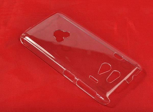 日机富士通F-03F手机壳+PC单底壳+优质水晶壳素材