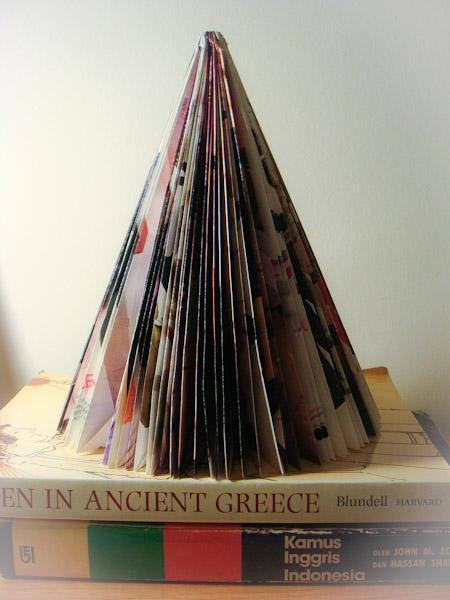 Xmas雜誌聖誕樹自製-1