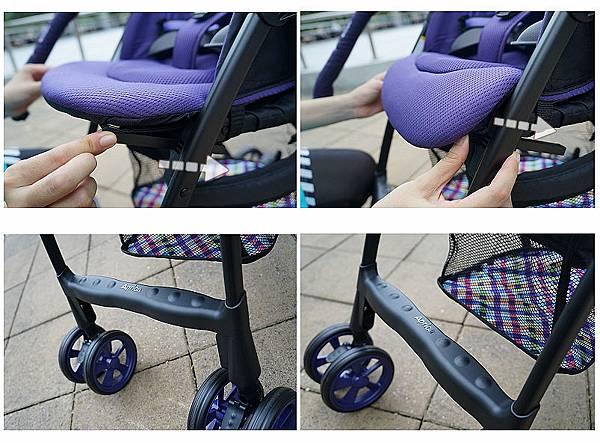 伸縮腿墊+踏腳板