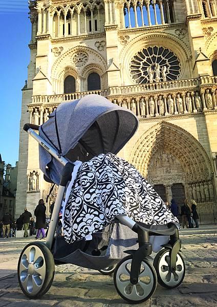 AhGooBaby Stroller Blanket+ABC mint