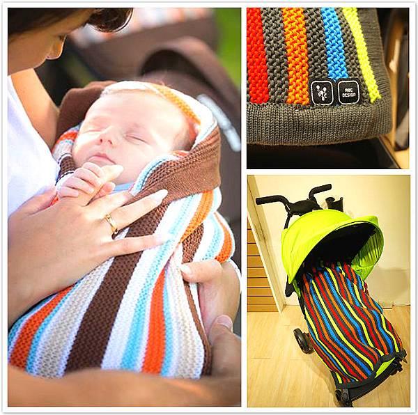 ABC 針織毯