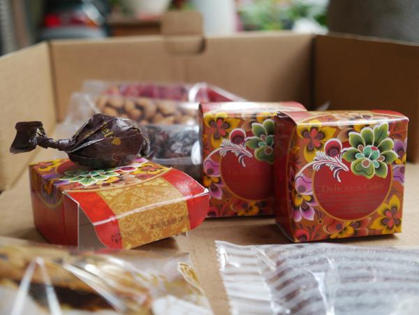 中國風盒子裝單顆糖衣栗子