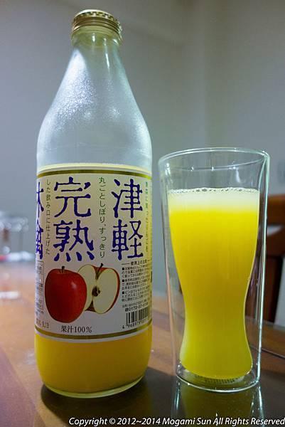 青森蘋果汁-9