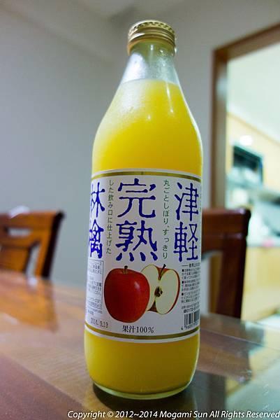 青森蘋果汁-3