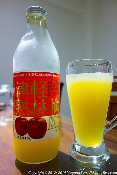 青森蘋果汁-10