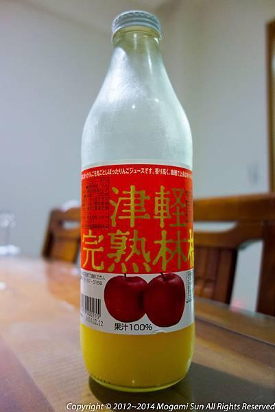 青森蘋果汁-2