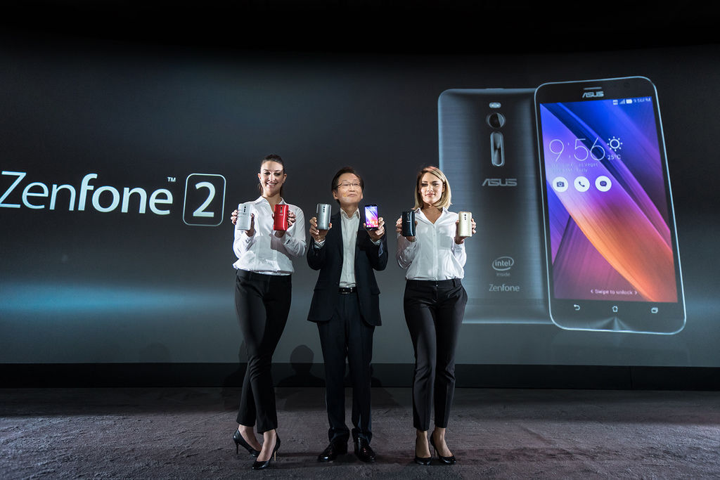 ASUS ZenFone 2為ZenFone系列全新高規格機種,內建1300萬畫素PixelMaster相機,4GB RAM及64位元Intel...