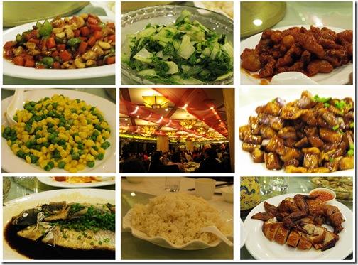 王府井晚餐