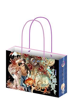 輕小說-A2紙袋-立體-盒