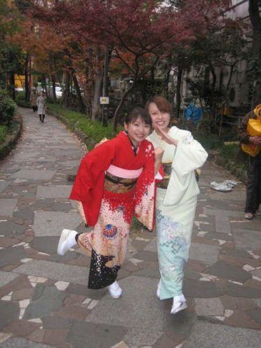 日本和服--きもの