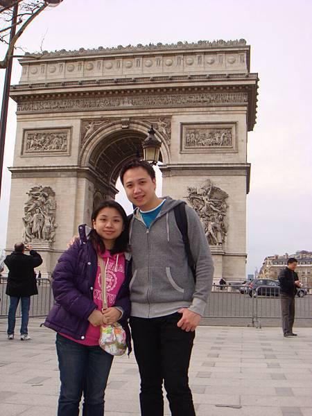凱旋門Arc de Triomphe @巴黎