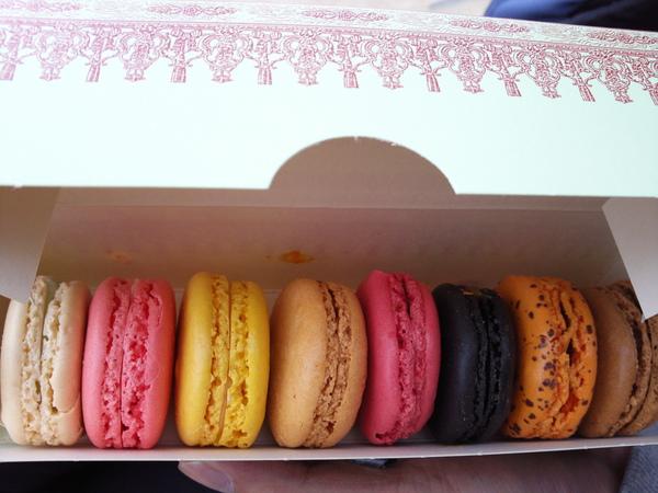 Ladurée(杜荷甜點舖)的馬卡龍Macaron