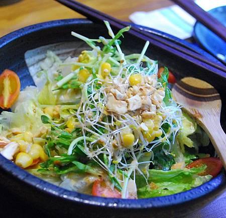 和風柚子生菜沙拉1
