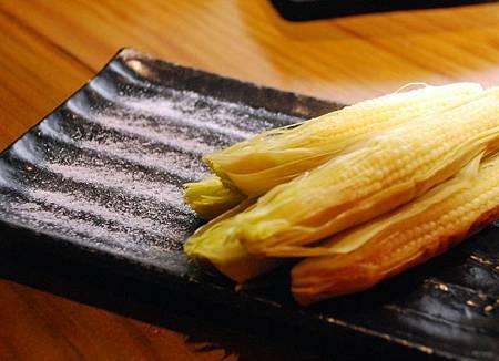 帶皮玉米筍