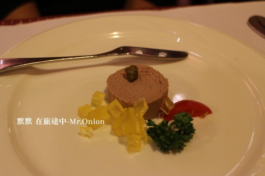 Mr.Onion前菜鵝肝