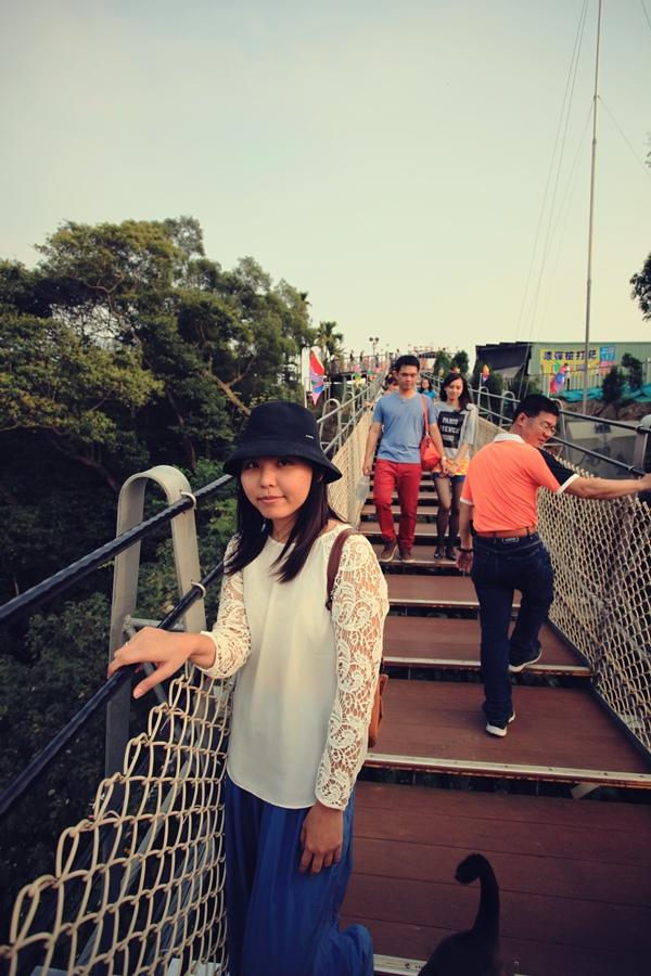 彰化猴探井 天空之橋