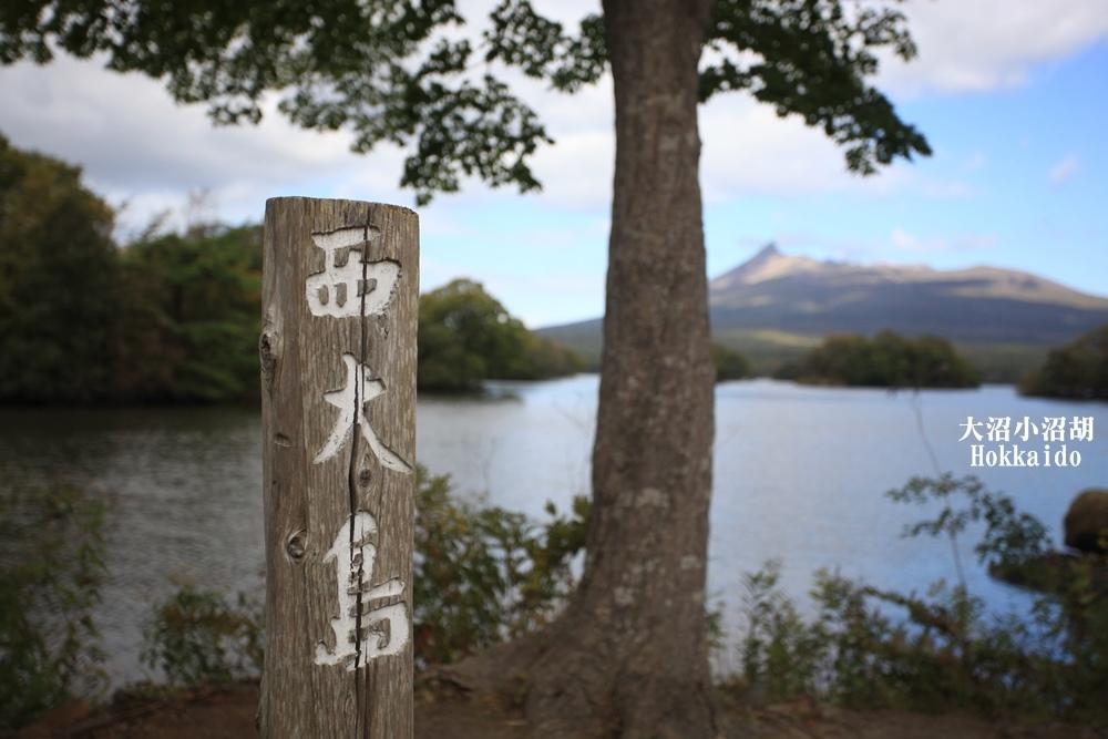 北海道旅行大沼國家公園、小沼湖