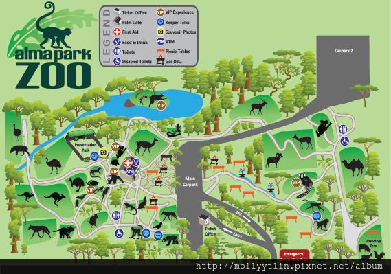Alma-ParkZoo-Map-January2013