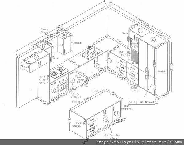 Beenleighdkt22-2015 - Kitchen Plan
