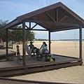 金沙灘的涼亭