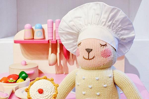 blabla娃娃衣服-廚師組完裝1