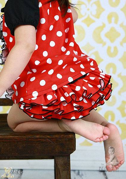 Minnie Mouse Ruffle Bloomer-2