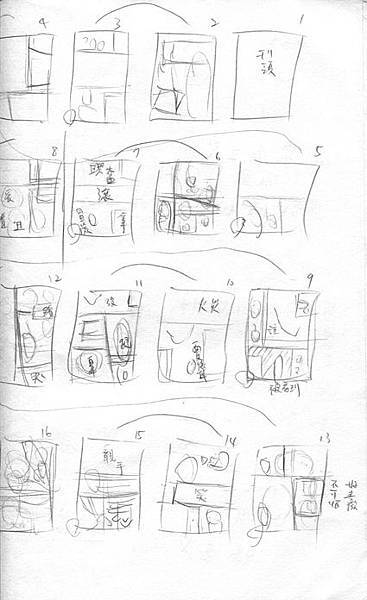 馬戲魅影頁數分配