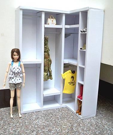 L型衣櫃03