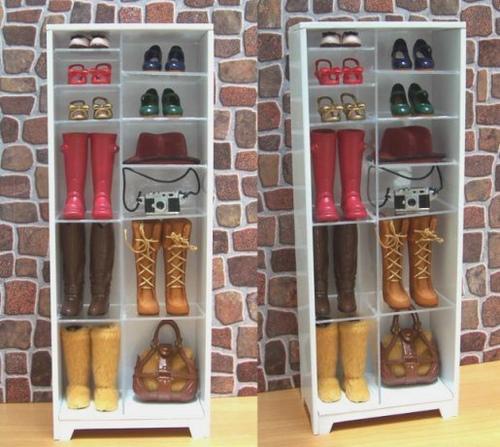 鞋櫃靴子包包展示櫃01