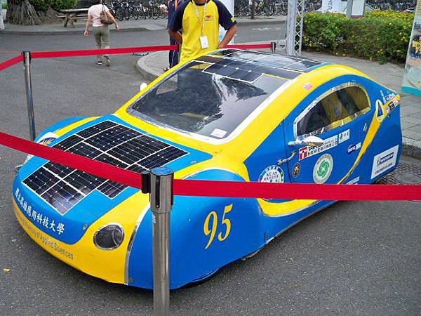 太陽能車01