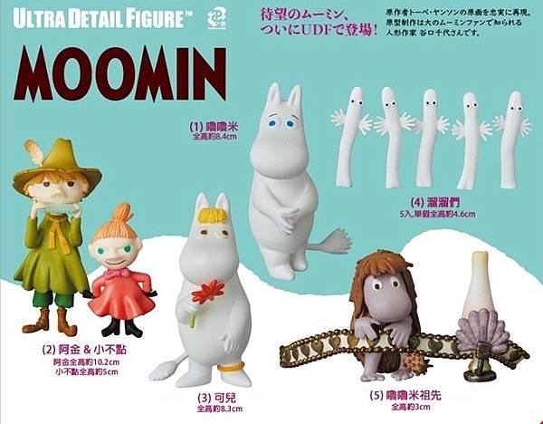 MEDICOM TOY UDF Moomin