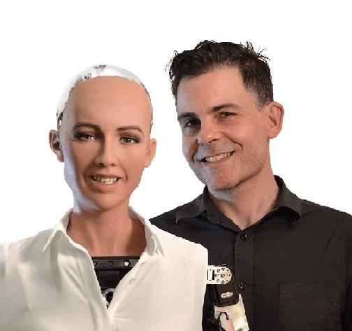 AI機器人蘇菲亞