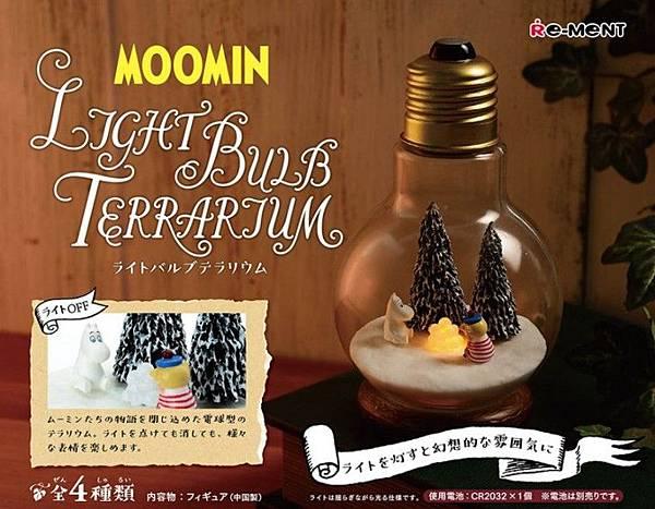 Re-ment 嚕嚕米燈泡01